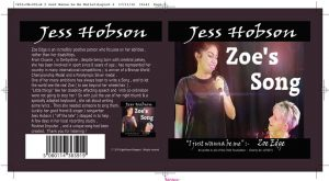 Zoe's Song (I just wanna be me) CD cover